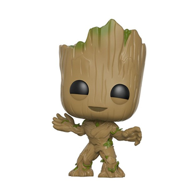 Funko Pop Groot - Guardiões da Galáxia Vol.2 Marvel #202 - zoom