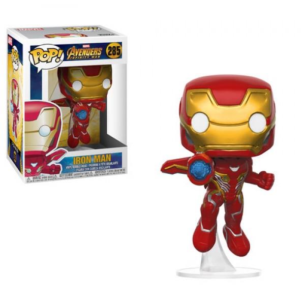 Funko Pop Iron Man - Vingadores: Guerra Infinita #285