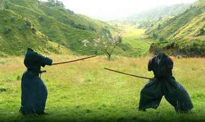 samurai Cadê o sujeito que tava aqui?