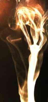 damadefogo Fotos com fumaça
