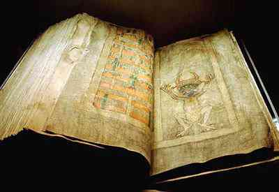 dablova bible1 O maior livro do mundo