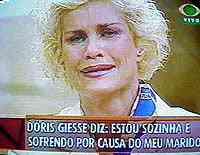 dorisgiessereptv Doris Giesse caiu da janela ou foi jogada?