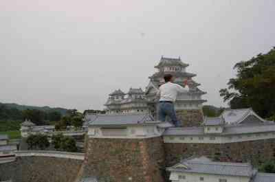 mini himeji3 O homem e seu castelo