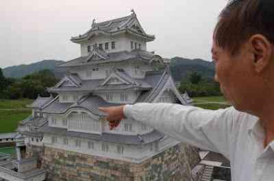 mini himeji5 O homem e seu castelo