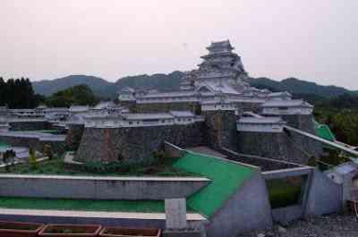 mini himeji6 O homem e seu castelo