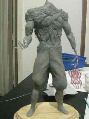 CIMG2596 Um boneco em 24 horas   O homem planta