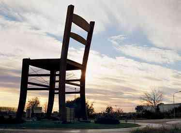 gbchair0319 A maior cadeira do mundo