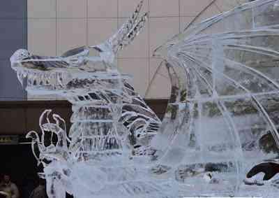 more ice 01 Esculturas de gelo