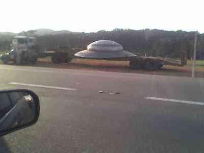 Desconhecida 2 Disco voador caiu no Brasil?