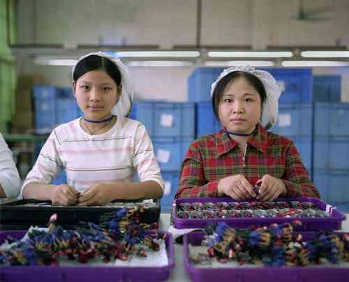 chinatoyfactory01 Uma fábrica de brinquedos na China