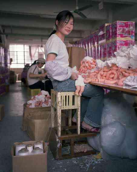 chinatoyfactory11 Uma fábrica de brinquedos na China