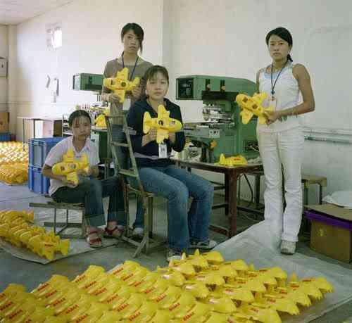 chinatoyfactory12 Uma fábrica de brinquedos na China