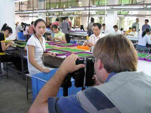 chinatoyfactory14 Uma fábrica de brinquedos na China