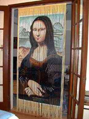 cortina Mona Lisa remake