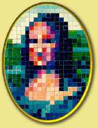 keret17 small Mona Lisa remake