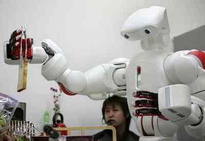 robot1 O incrível Robô serviçal