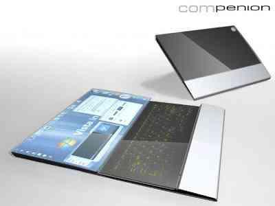 leptop1 Os 10 mais maneiros notebooks conceituais