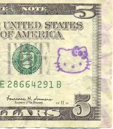 hello kitty dollar Dez produtos bizarros da Hello Kitty