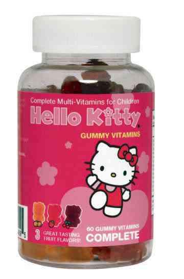 hello kitty vitamins 1 Dez produtos bizarros da Hello Kitty