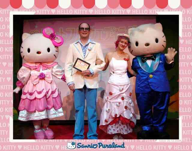 hello kitty wedding Dez produtos bizarros da Hello Kitty