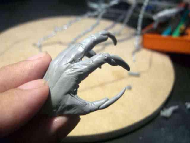 CIMG6099 Viking Warrior Parte 3   Fabricando o monstro