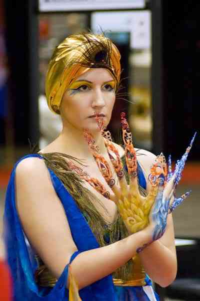 hairworldchicago24wf4 Fotos bizarras de uma exposição de penteados