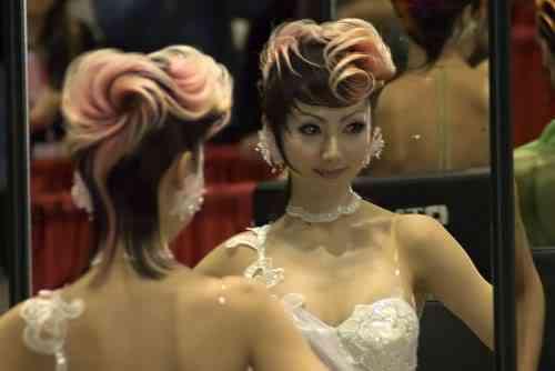 hairworldchicago28se1 Fotos bizarras de uma exposição de penteados