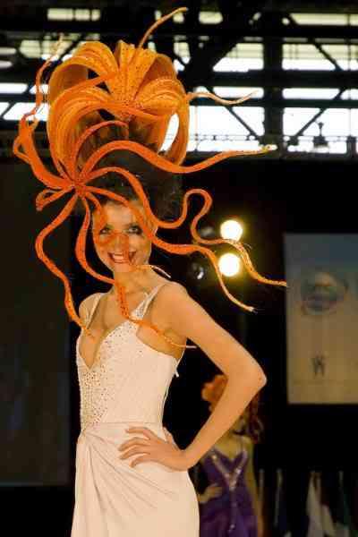hairworldchicago31uh4 Fotos bizarras de uma exposição de penteados