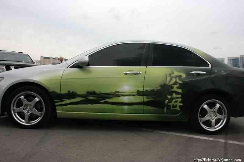 005 aero 2008 Pinturas automotivas inacreditáveis