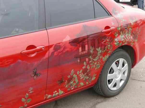 040 aero 2008 Pinturas automotivas inacreditáveis