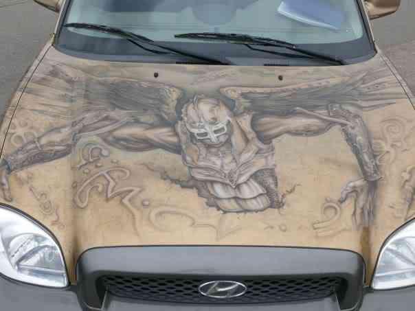 044 aero 2008 Pinturas automotivas inacreditáveis