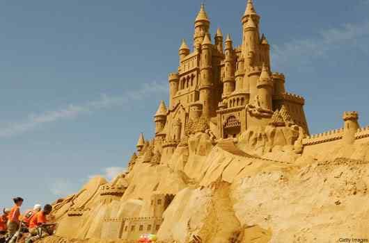 18 belgium sea sculpture 070208 Incríveis esculturas de areia