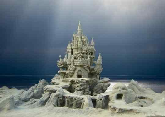 1 3 Incríveis esculturas de areia