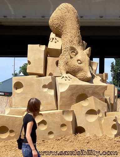 726600467 5bf8e41026 Incríveis esculturas de areia