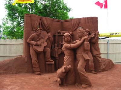 Picture4 Incríveis esculturas de areia