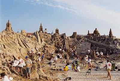 Sand Incríveis esculturas de areia