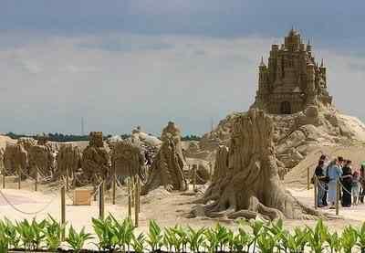 SandSculptures09 Incríveis esculturas de areia