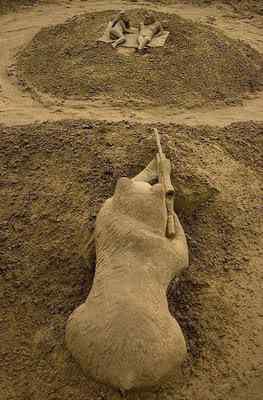 Sand Sculptures 27 Incríveis esculturas de areia