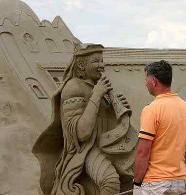 Sand Sculptures 55 Incríveis esculturas de areia