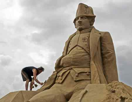 a400 s3 Incríveis esculturas de areia