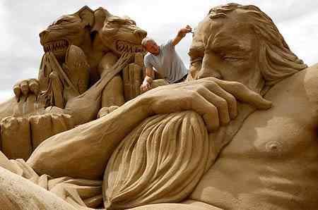 a400 s5 Incríveis esculturas de areia