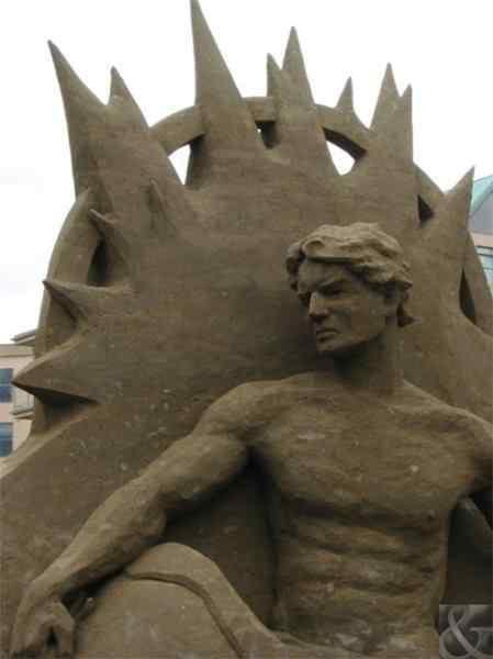 dan belcher 4 Incríveis esculturas de areia