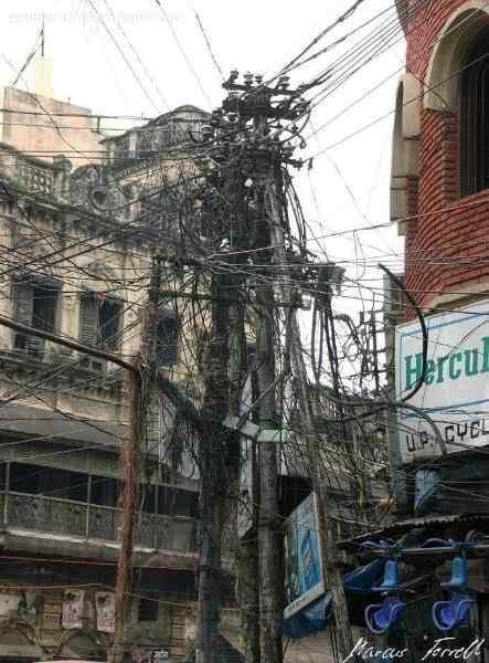 electrical cabling gone wild 1 Cabos, fios, rede e bagunça