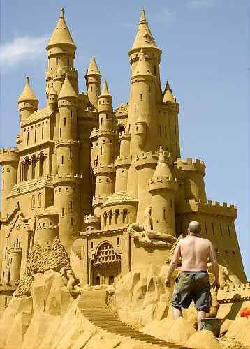 gal sandsculpture 1 Incríveis esculturas de areia