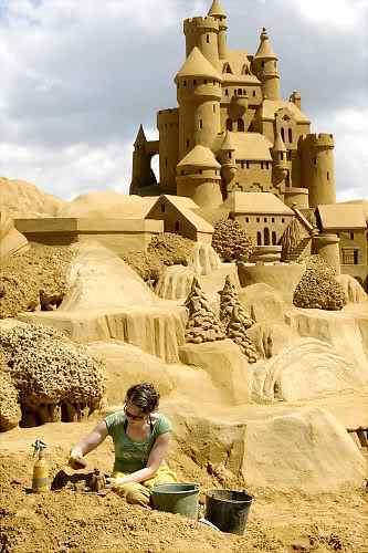 gal sandsculpture 3 Incríveis esculturas de areia