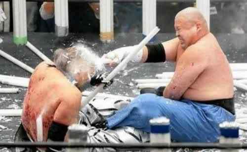 japanese neon fight3 O esporte mais idota da face da Terra?