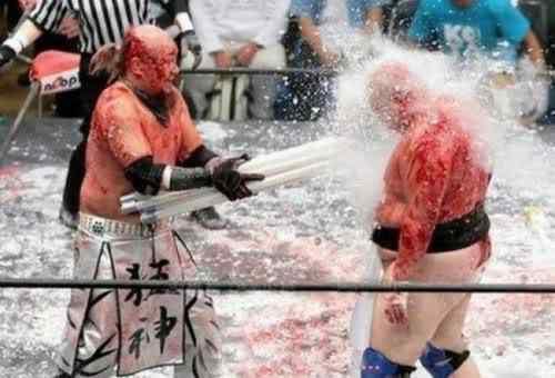 japanese neon fight5 O esporte mais idota da face da Terra?
