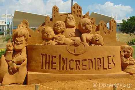kingsand4 Incríveis esculturas de areia