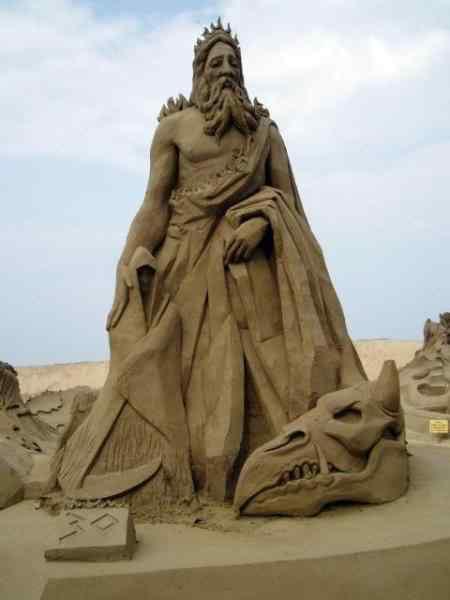 p7230007 mid Incríveis esculturas de areia