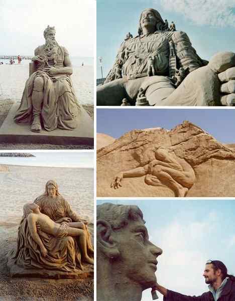 radovan Incríveis esculturas de areia